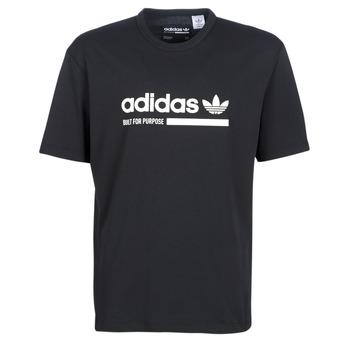 Textil Homem T-Shirt mangas curtas adidas Originals SNAPI Preto