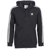 Textil Homem Sweats adidas Originals 3 STRIPES FZ Preto