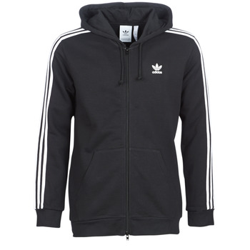 Textil Homem Sweats adidas Originals 3 STRIPES FZ Preto