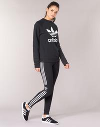 Textil Mulher Collants adidas Originals TREFOIL TIGHT Preto