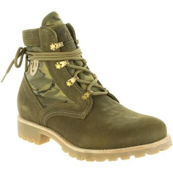 Sapatos Mulher Sapatos de caminhada Panama Jack ROUTE BOOT REPORTER B9 Verde