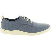Sapatos Homem Sapatilhas Clarks 26132276 MAPPED Azul