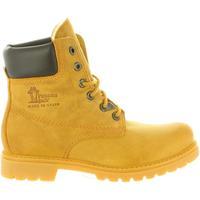 Sapatos Mulher Sapatos de caminhada Panama Jack PANAMA 03 WOOL B1 Amarillo