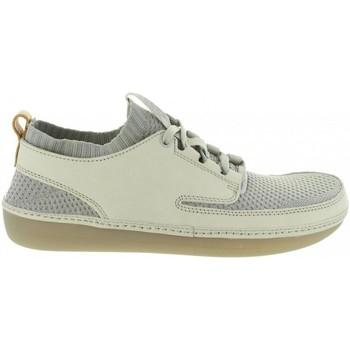 Sapatos Homem Sapatilhas Clarks 26125775 NATURE IV Gris