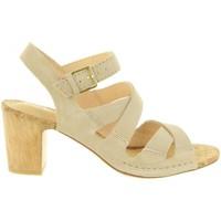 Sapatos Mulher Sandálias Clarks 26131830 SPICED Beige