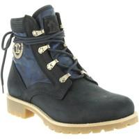 Sapatos Mulher Sapatos de caminhada Panama Jack ROUTE BOOT REPORTER B11 Azul