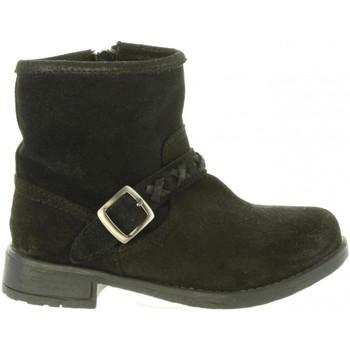 Sapatos Rapariga Botas Chika 10 FRAMBUESA 01 Negro