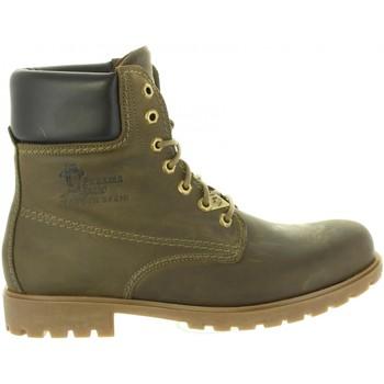 Sapatos Homem Sapatos de caminhada Panama Jack PANAMA 03 C18 NAPA GRASS KAKI Verde