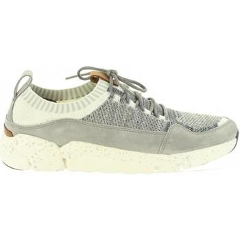 Sapatos Homem Sapatilhas Clarks 26133889 TRIACTIVE Gris