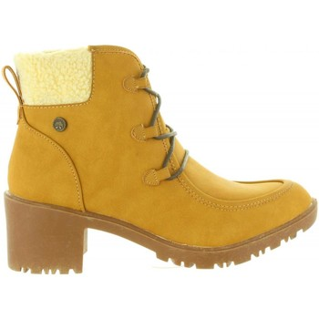 Sapatos Mulher Botas Chika 10 PITU 06 Amarillo