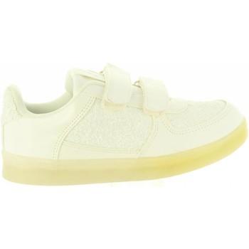 Sapatos Rapariga Sapatilhas Chika 10 ZALUCES 02 Blanco