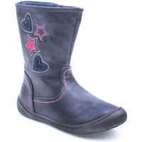 Sapatos Rapariga Botas Bc K Boot Girl Azul