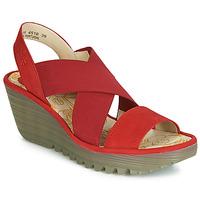 Sapatos Mulher Escarpim Fly London YAJI Vermelho
