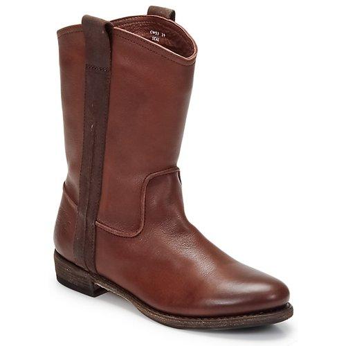 Sapatos Homem Botas baixas Blackstone BOLOGNA HORSES Castanho