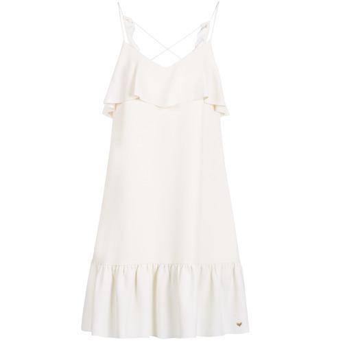 Textil Mulher Vestidos curtos Les Petites Bombes AZITARBE Branco