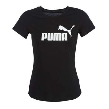 Textil Mulher T-Shirt mangas curtas Puma PERMA ESS TEE Preto