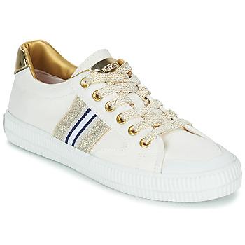 Sapatos Mulher Sapatilhas Replay EXTRA Branco / Ouro