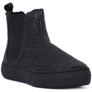 Sapatos Mulher Botins Frau FERRER NERO Nero