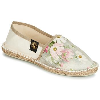 Sapatos Mulher Alpargatas Art of Soule BOHEME Bege / Flor
