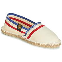 Sapatos Alpargatas Art of Soule RAYETTE Bege / Azul / Vermelho