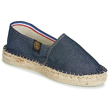 Sapatos Mulher Alpargatas Art of Soule DOUBLE SEMELLE Marinho