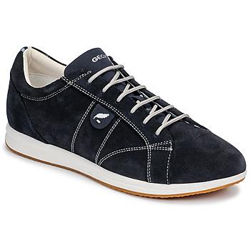 Sapatos Mulher Sapatilhas Geox D AVERY Marinho