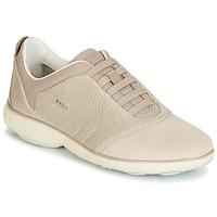 Sapatos Mulher Sapatilhas Geox D NEBULA Bege / Creme