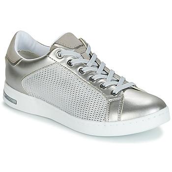 Sapatos Mulher Sapatilhas Geox D JAYSEN Prata