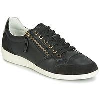 Sapatos Mulher Sapatilhas Geox D MYRIA Preto