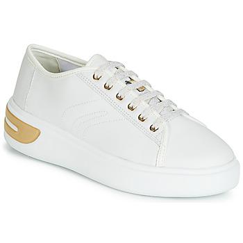 Sapatos Mulher Sapatilhas Geox D OTTAYA Branco