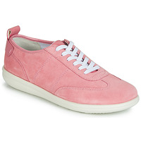 Sapatos Mulher Sapatilhas Geox D JEARL Rosa