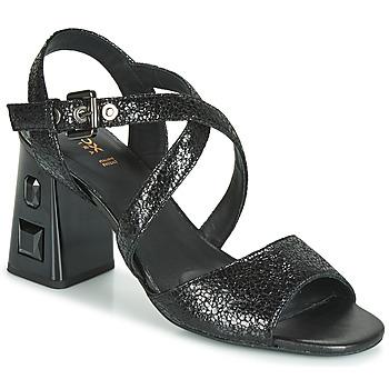 Sapatos Mulher Sandálias Geox D SEYLA S. HIGH PLUS Preto