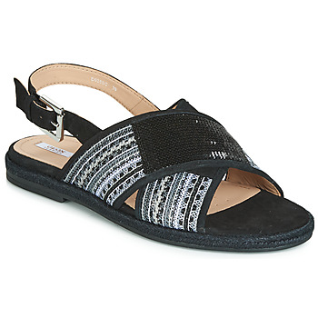 Sapatos Mulher Sandálias Geox D KOLEEN Preto