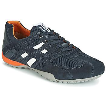 Sapatos Homem Sapatilhas Geox UOMO SNAKE Marinho