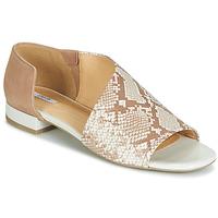 Sapatos Mulher Sandálias Geox D WISTREY SANDALO Bege