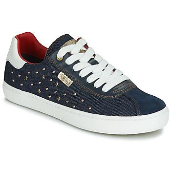 Sapatos Rapariga Sapatilhas Geox J KILWI GIRL Marinho