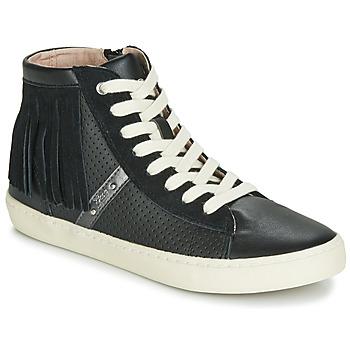 Sapatos Rapariga Sapatilhas de cano-alto Geox J KILWI GIRL Preto