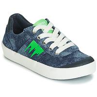 Sapatos Rapaz Sapatilhas Geox J KILWI BOY Azul / Verde