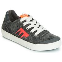 Sapatos Rapaz Sapatilhas Geox J KILWI BOY Cinza / Laranja