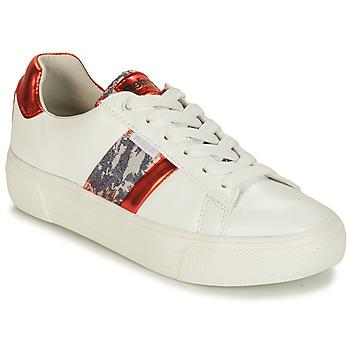 Sapatos Mulher Sapatilhas Refresh 69954 Branco / Vermelho