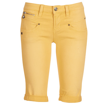 Textil Mulher Shorts / Bermudas Freeman T.Porter Belixa New Magic Color Amarelo