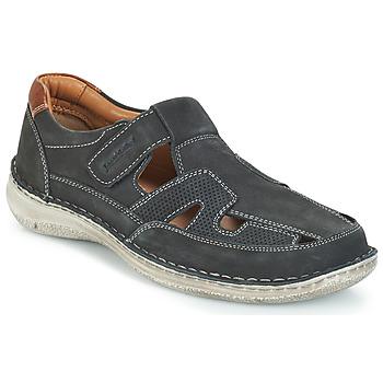 Sapatos Homem Sandálias Josef Seibel ANVERS 82 Azul