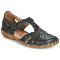 Sapatos Mulher Sandálias Josef Seibel ROSALIE 29 Preto