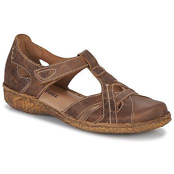 Sapatos Mulher Sandálias Josef Seibel ROSALIE 29 Castanho