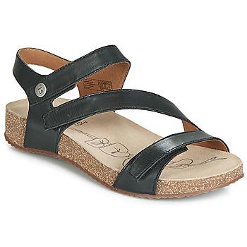 Sapatos Mulher Sandálias Josef Seibel TONGA 25 Preto
