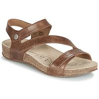 Sapatos Mulher Sandálias Josef Seibel TONGA 25 Castanho