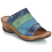 Sapatos Mulher Chinelos Josef Seibel CATALONIA 64 Azul