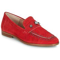 Sapatos Mulher Mocassins Dorking 7782 Vermelho