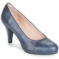 Sapatos Mulher Escarpim Dorking 7118 Marinho