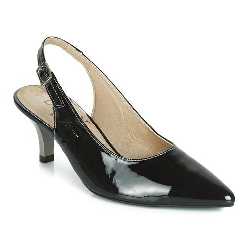 Sapatos Mulher Escarpim Dorking 7814 Preto